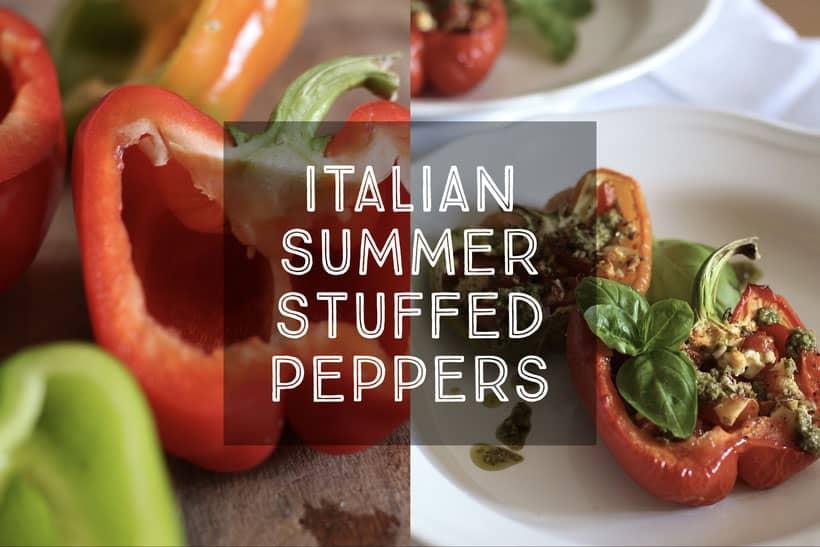 Italian Summer Stuffed Peppers
