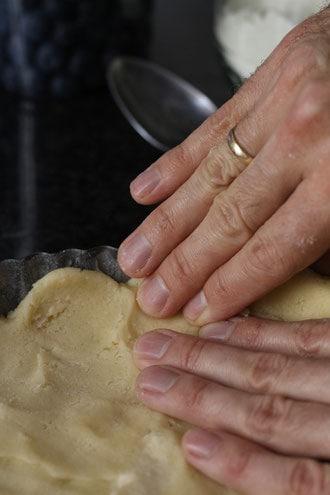 Pastry for Blueberry Almond Tart