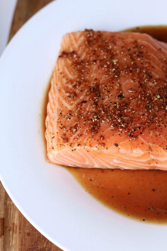 Salmon for Earl Grey Smoked Salmon