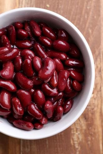 Kidney BEans for Enchiladas