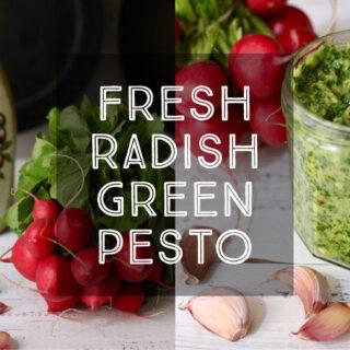 fresh-radish-green-pesto-