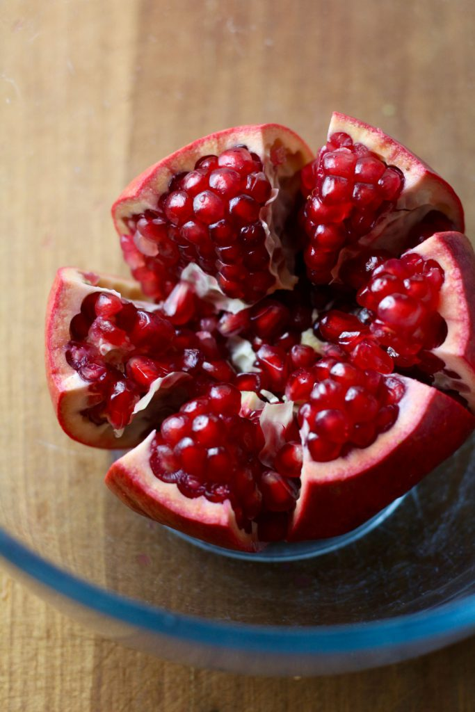 Pomegranate for Herby Spiced Cauliflower Couscous