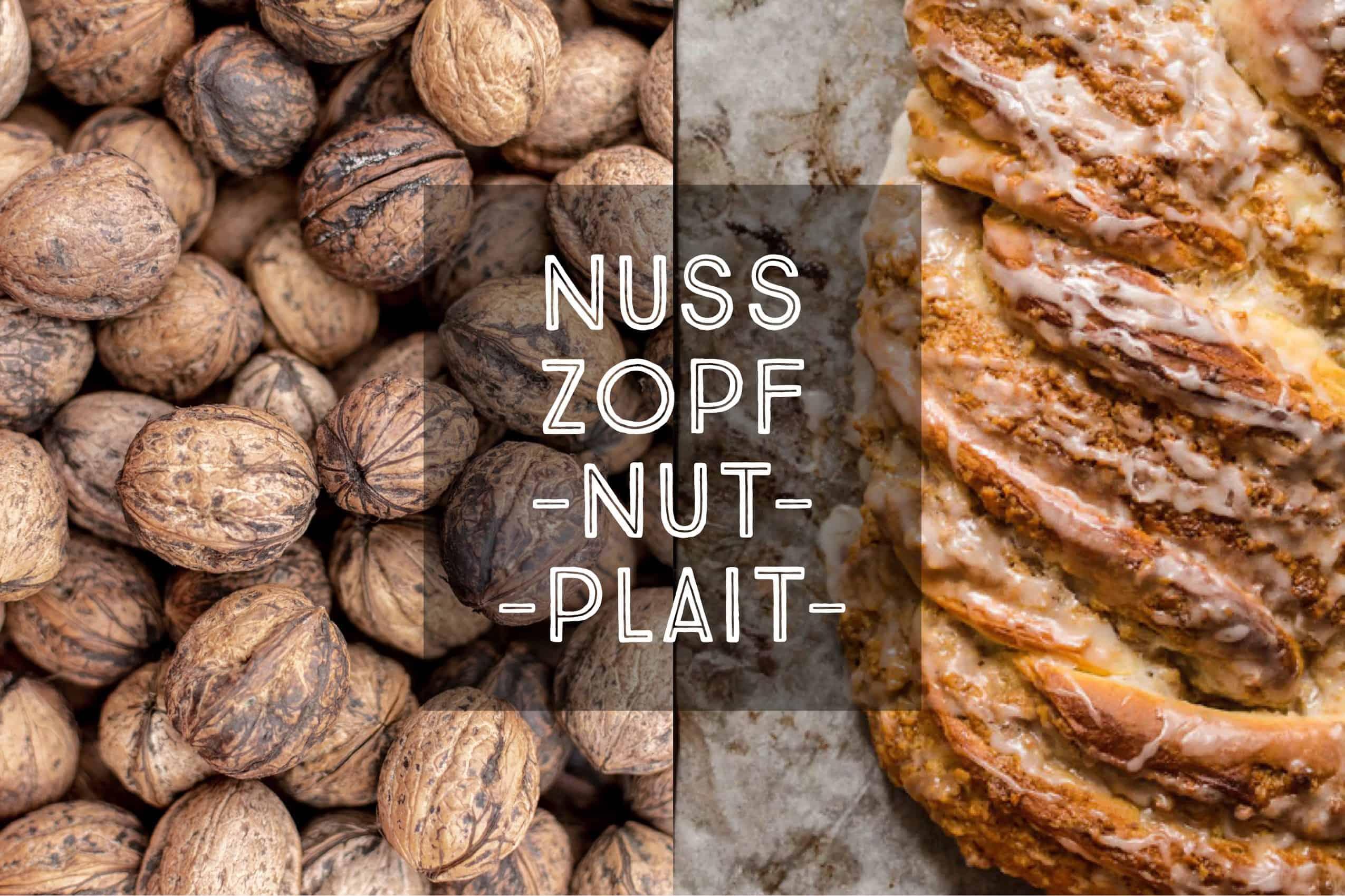 German Nut Plait Nusszopf Nußzopf