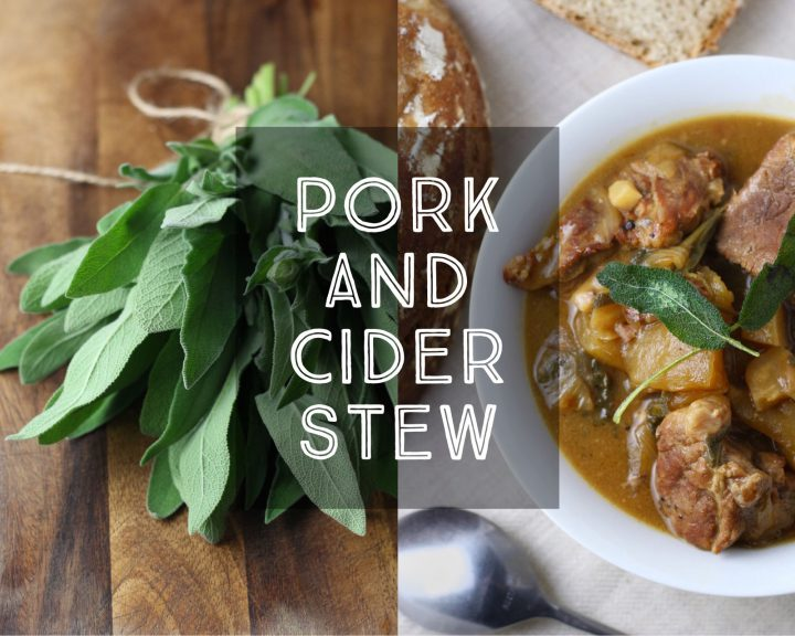 Pork and Cider Stew