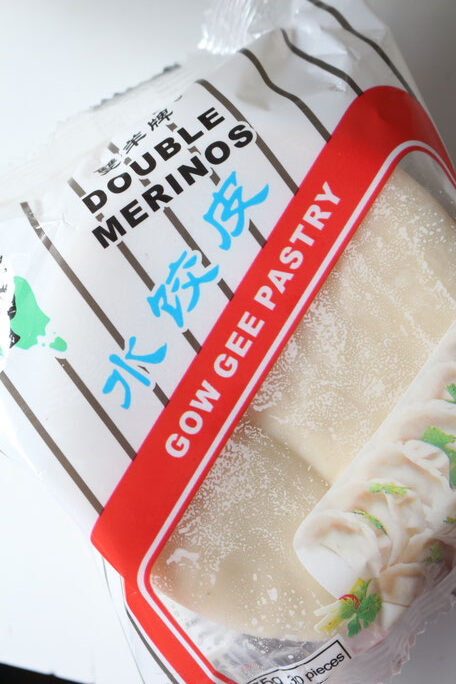 Gow Gee Wrappers for Pork and Spinach Gyoza