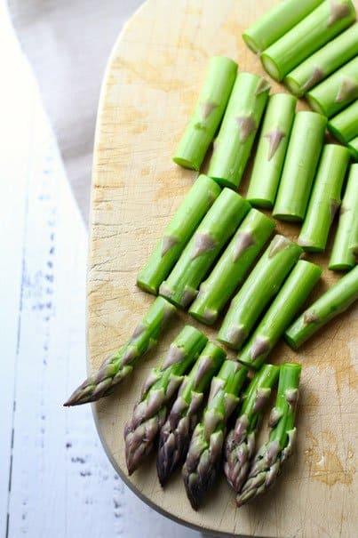 Asparagus for Spring Soup Minestrone Primavera