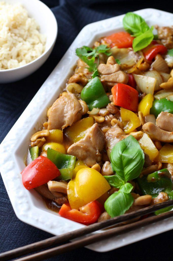 Spicy Cashew Nut Chicken