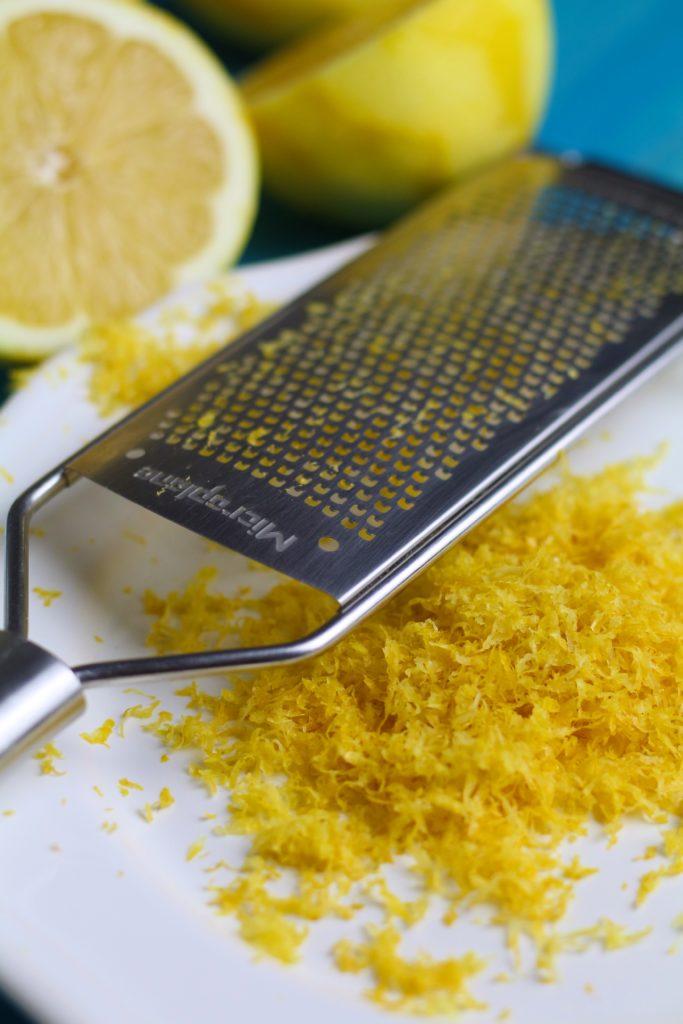 Lemon Zest and Microplane