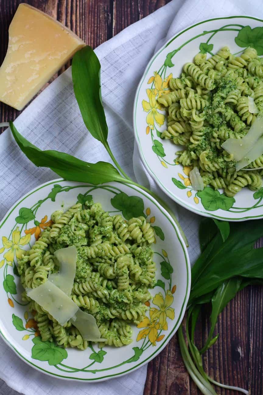 Wild Garlic Pesto Pasta