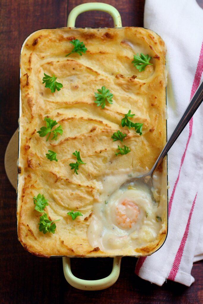 Creamy Smoked Fish Pie