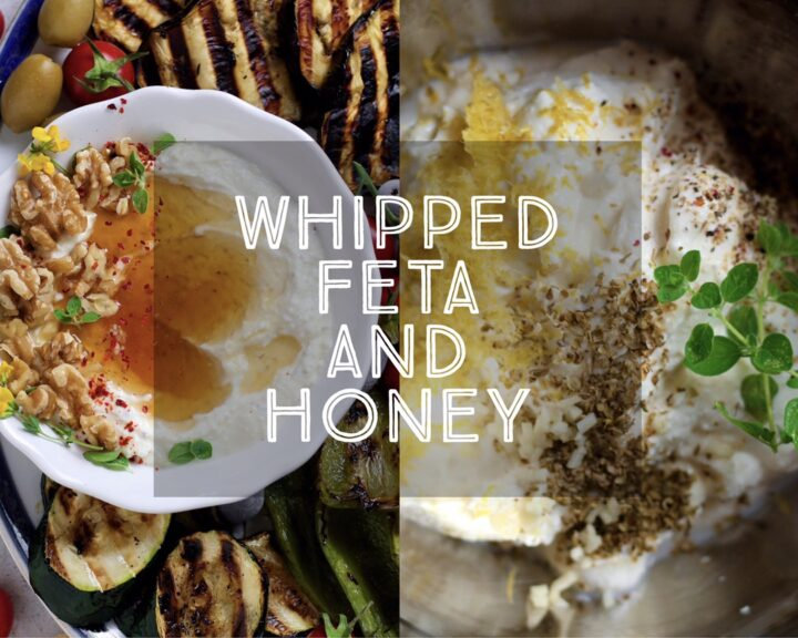 Whipped Feta and Honey