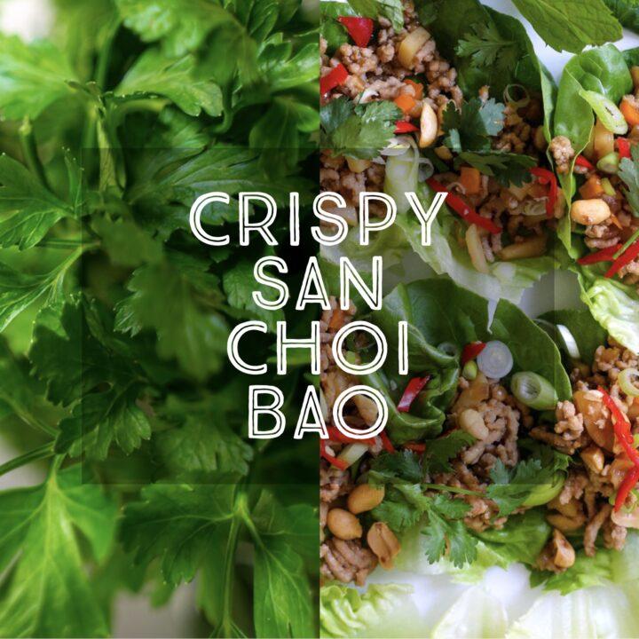 Crispy San Choi Bao