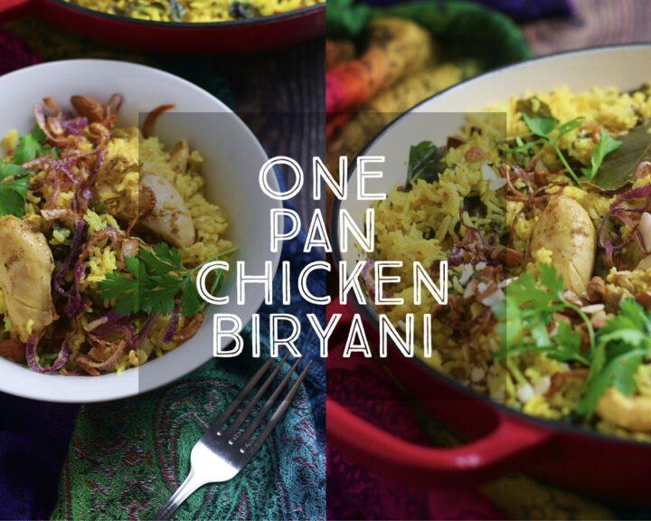 One Pan Chicken Biryani