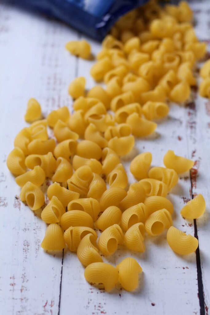 Pasta for Italian Caprese Pasta Salad