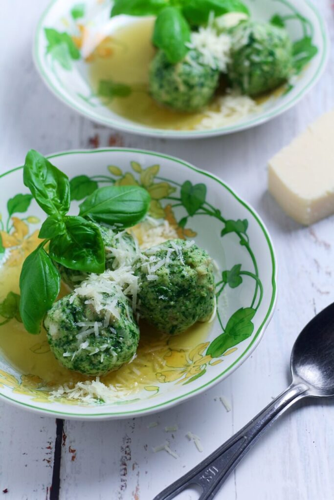 Spinach and Ricotta Dumplings